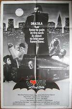 1979 LOVE AT FIRST BITE~DRACULA~George Hamilton  ~MOVIE POSTER 1 SH OR