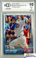 2015 Topps #616 Kris Bryant ROOKIE VARIATION BECKETT 10 MINT Chicago Cubs !