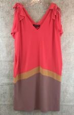 Ranna Gill Women's Dress Anthropologie Lagenlook Open Shoulder Shift Size XS