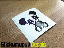JDM Panda Decalcomania/Adesivo Vinile per Auto Giapponesi 2 colori stampato VW, HONDA, FIAT 500