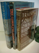 The COMPLETE WILDFOWLER - COMPLETE GUIDE to BIRD DOG TRAINING Hunting Lot of 3