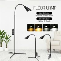 Adjustable 3-in-1 LED Floor Lamp Standing Desk Table Reading Light Dimmable