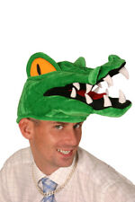 TOOTHY CROCODILE FUN NOVELTY FANCY DRESS HAT