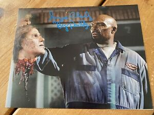 Eugene Clark Land of the Dead Hand Signed 10x8 Photo. Horror. Authentic.