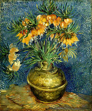 Vincent Van Gogh Still life with hazel 16.5X11.7 canvas print art reproduction