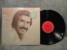 33 RPM LP Record Marty Robbins Some Memories Just Wont Die Columbia FC 38603 EXC