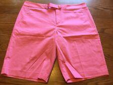 Ralph Lauren Golf Women's Classics Pink Shorts Size 8