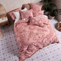 Linen House Rapallo Blossom 100% Cotton Quilt Cover Duvet Doona Set Super King