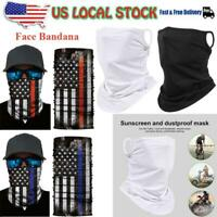 Motorcycle Face Bandana Shield Mouth Cover Headwear Neck Gaiter Balaclava Scarf