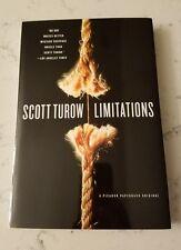 Limitations by Scott Turow 2006 Paperback 9780312426453 New Rape Case Courtroom