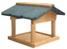 Wooden Hanging Wild Bird Table Garden Park Bird Feeder Feeding Station Boxed UK