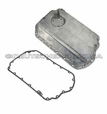 VW Passat Audi A4 A6 2.8 V6 Lower Engine Oil Pan + Gasket 078103604AC SET of 2