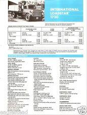 Truck Brochure - International - 1750 - Loadstar - 1974 - Blue (TB229)