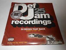 Def Jam 25 DJ Bring That Back [PA] [LP] Vinyl, Apr-2009 4 LPs Def Jam USA