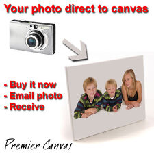 "Your Photo To Canvas - 9"" x 12"" - ONLY £9.99!!!!!!!!!"