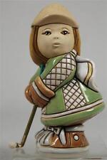 Rinconada JJC Carbajales 'Golf Girl' Figurine RETIRED-NEW!