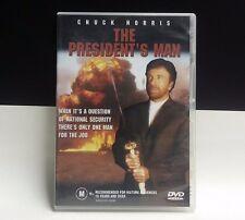 CHUCK NORRIS MOVIE  ' The President's Man ' DVD - 2002 TERRORIST MOVIE - REG 4