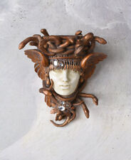 Wall Sculpture Medusa Hängekonsole Snake Crown Wall Bracket Art Nouveau Console