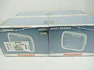 LOT OF (4) SYLVANIA H6054 BASIC HEADLIGHT