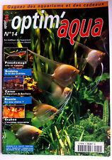 Optim'aqua Magazine n°14 - Corse bonifacio/ Crabes/ Scalaire/ Bassin en eau clai