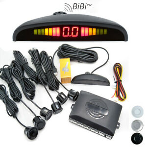 Parking 6 Sensors Car Reverse Backup Rear Buzzer Radar System Kit Sound Alarm
