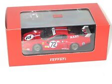 1/43 Ferrari BB512 North American Racing Team  Le Mans 24 Hrs 1982 #72