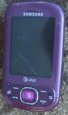Samsung Strive SGH-A687 Purple (UNLOCKED) Cellular Phone Good Used Fast Shipping