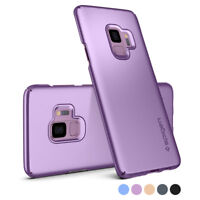 For Galaxy S9 / S9 Plus | Spigen® [Thin Fit] Slim Protective Case Cover