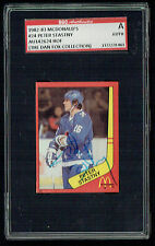 Peter Stastny #24 signed autograph auto 1982-83 McDonald's Card SGC Authentic