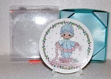 1994 Enesco Precious Moments You Have Touched So Many Hearts Miniature Plate Nib