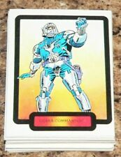 G I ( GI ) Joe by comic images in 1987. Complete 55 card set.