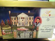 Elvis Presley's Graceland Dept 56 Dickens Village 55041 Retired Christmas 2000