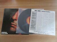 Leonard Cohen - Various Positions 1992 Korea Orig LP Insert RARE LABEL
