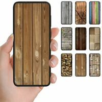 For OPPO Series - Wood Timber Print Pattern Mobile Phone Back Case Cover #2