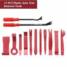 13 x Plastic Car Radio Door Clip Panel Trim Dash Audio Removal Pry Tool Kit Set