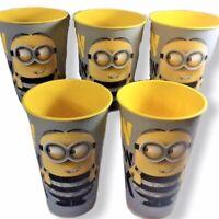 ZAK Minions Tumbler 24.8 oz Despicable Me Party Plastic Cup Lot of 5  Favor