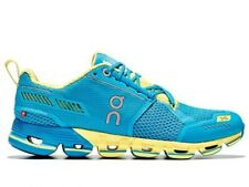 ON CLOUD CLOUDFLYER Running Sneaker Shoes Blue-Yellow Womens Size 9.5