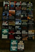 Jack Higgins - lot of 22 books - Complete Sean Dillon collection Midnight Bell +