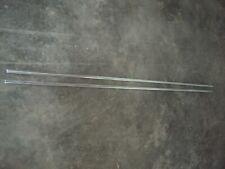 1964 OLDSMOBILE CUTLASS F85 2-DOOR QUARTER PANEL MOLDINGS SET 64 *VERY GOOD*
