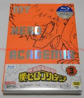 New Boku no My Hero Academia Vol.3 Limited Edition Blu-ray CD Booklet Card Japan