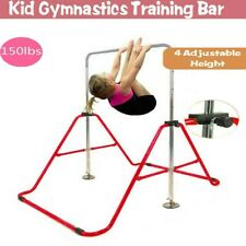 Gymnastics Horizontal Bar Kids Training Bar Expandable Gymnastic Folding Kip Bar
