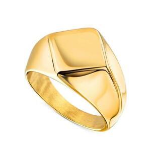 "HERREN RING ""BARNEY"" 750er GOLD 18 KARAT VERGOLDET EDELSTAHL DJADEE R5627D1"