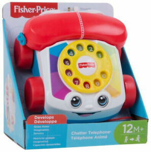 Fisher-Price Chatter Telephone Pull Along Toddler Toy Phone   - BRAND NEW