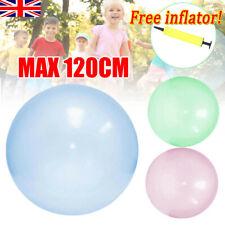 120Cm Soft Bubble Ball Wubble Squishy Play Firm Super Stretch Transparent Sports