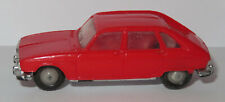old Made in France 1966 MICRO NOREV HO 1/87 RENAULT 16 R16 ROUGE #531