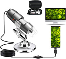 New Listingusb Microscope Camera 40x To 1000x Cainda Digital Microscope With Metal Stand Amp