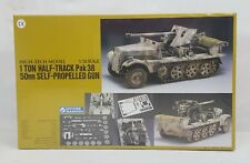 Gunze Sangyo 1 TON HALF-TRACK Pak 38 Tank 1/35 Scale High Tech Model NEW /SEALED