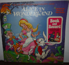 Alice in Wonderland book and record BR501 Peter Pan records   010718LLE