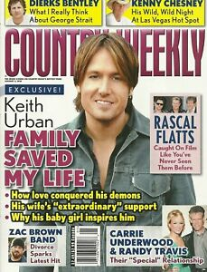 Country Weekly January 4 2010 Keith Urban Carrie Underwood Dierks Bentley