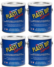 Performix Plasti Dip 10101013s Gun Metal Gallon Rubber Spray 4 Pack